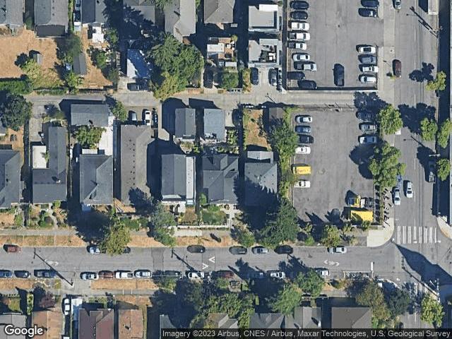 1842 S Weller St #2 Seattle, WA 98144 Satellite View