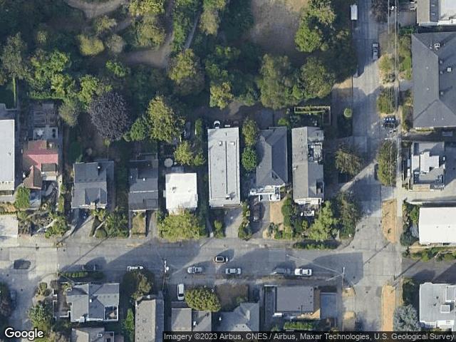 418 Highland Dr #4 Seattle, WA 98109 Satellite View