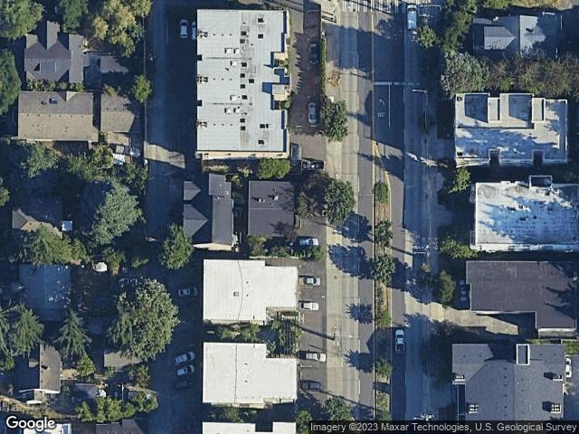 10745 Greenwood Ave N #A&B Seattle, WA 98133 Satellite View