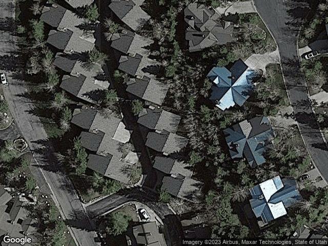 7480 Ridge Dr Park City, UT 84060 Satellite View