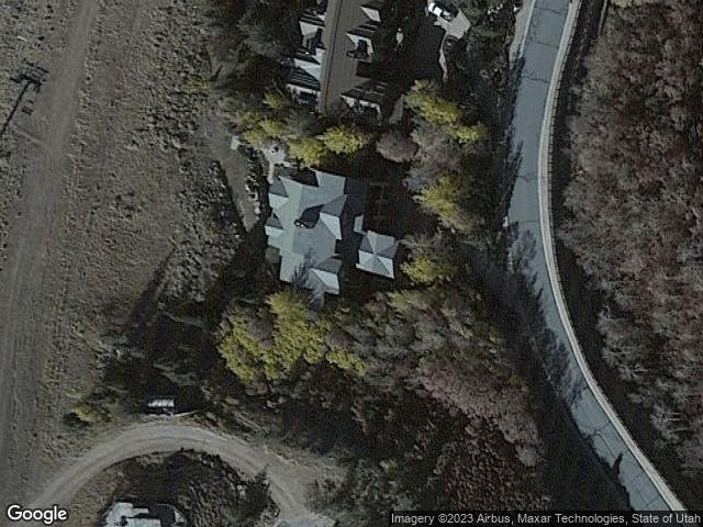 9850 N Summit View Dr Park City, UT 84032 Satellite View