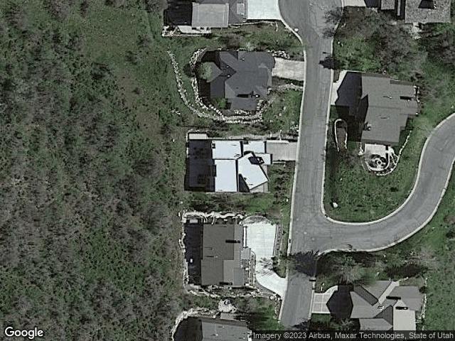 3099 Mountain Ridge Ct Park City, UT 84060 Satellite View