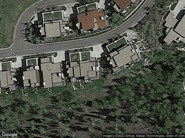 2575 Enclave Ln Park City, UT 84098 Satellite View