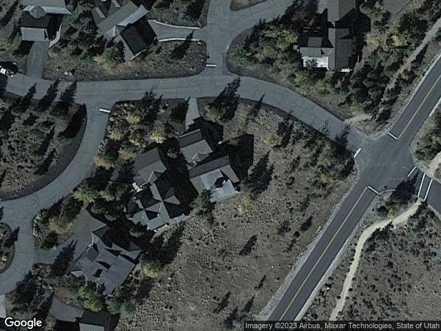 3549 Blue Sage Trl Park City, UT 84098 Satellite View