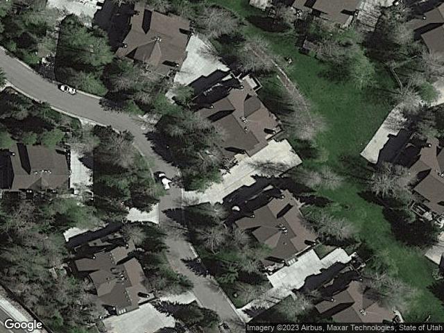 3084 W Elk Run Dr Park City, UT 84098 Satellite View