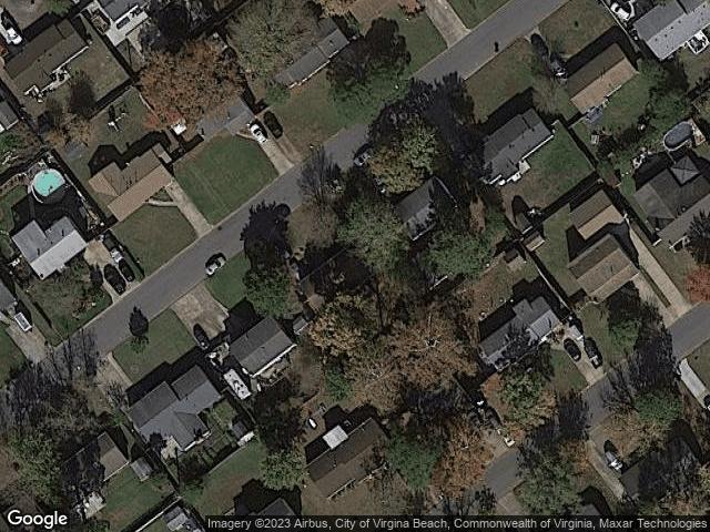 3045 Cobblestone Dr Virginia Beach, VA 23452 Satellite View