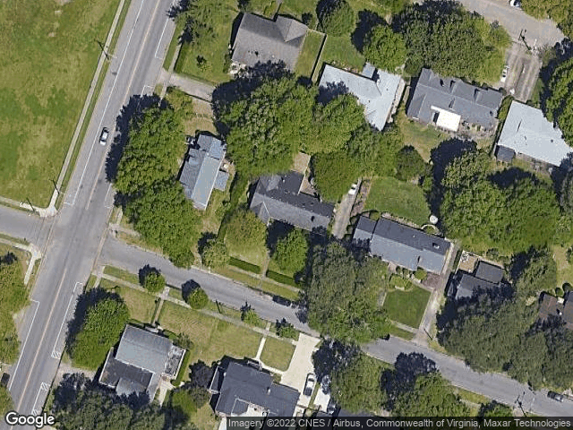 216 Brackenridge Ave Norfolk, VA 23505 Satellite View