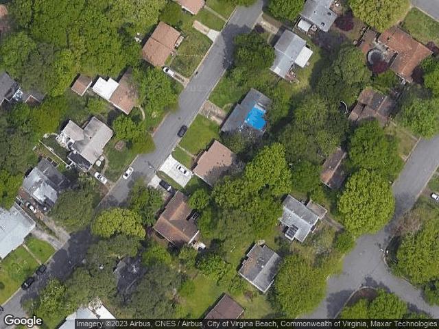 1621 Bill St Norfolk, VA 23518 Satellite View