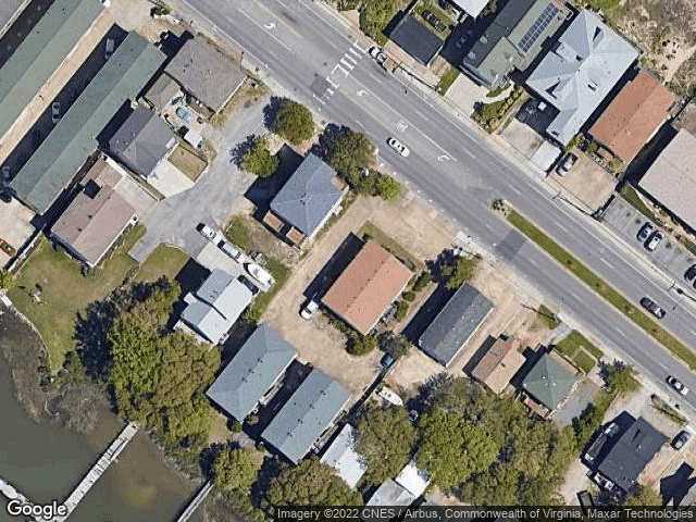 589 W Ocean View Ave #2 Norfolk, VA 23503 Satellite View