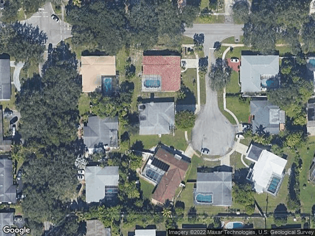 481 NW 45th Ter Plantation, FL 33317 Satellite View