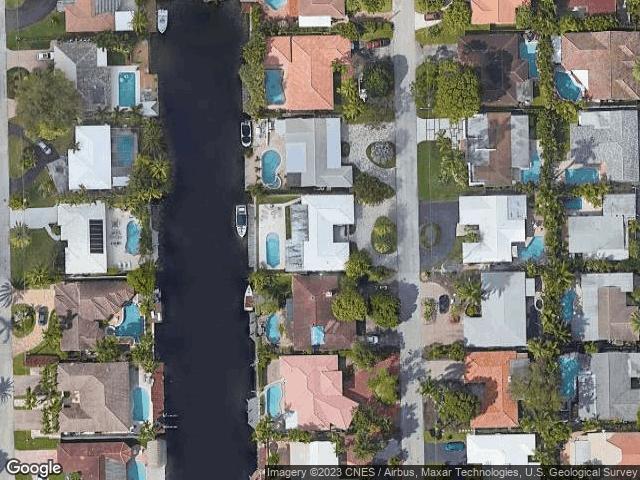 2301 NE 16Th Avenue Wilton Manors, FL 33305 Satellite View