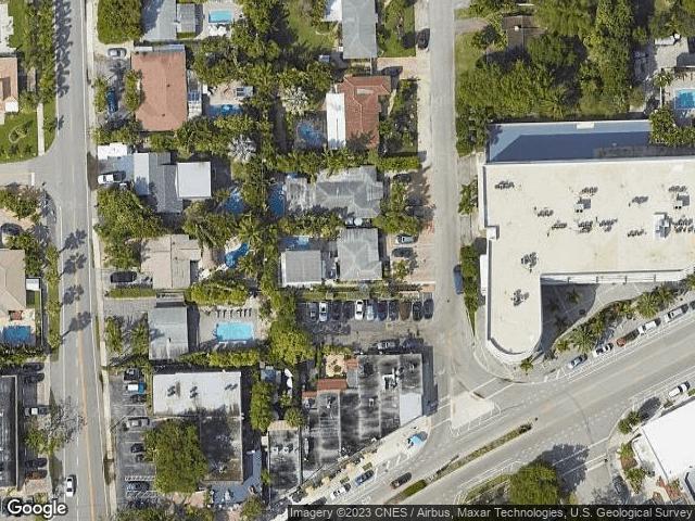 2405 NE 7th Ave Wilton Manors, FL 33305 Satellite View