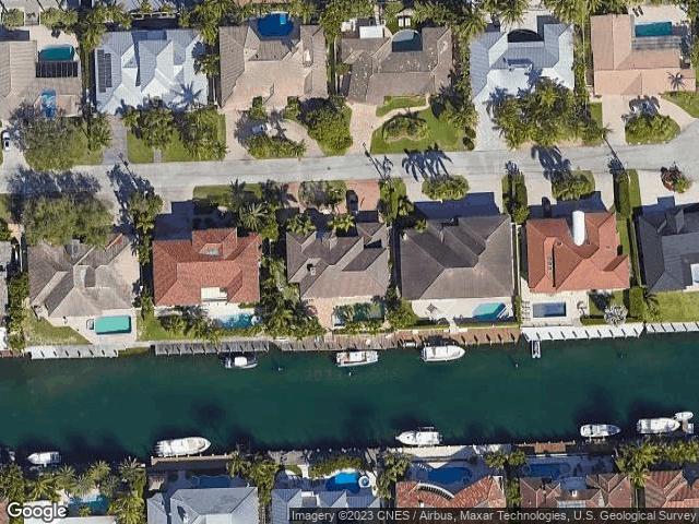 2370 NE 26th St Lighthouse Point, FL 33064 Satellite View