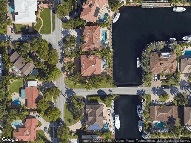 2812 NE 23rd Ave Lighthouse Point, FL 33064 Satellite View