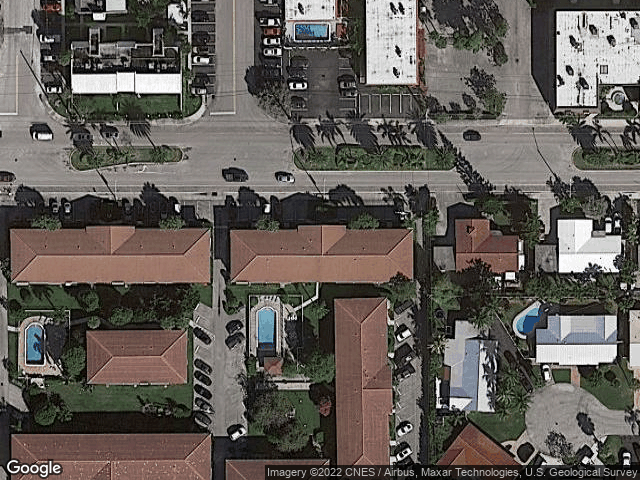 2200 NE 36th St #11 Lighthouse Point, FL 33064 Satellite View