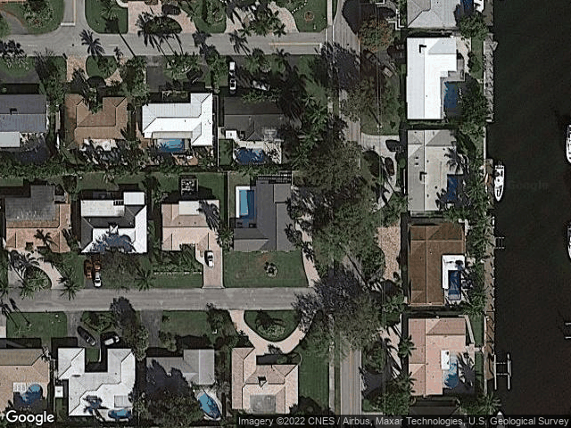 3731 NE 23rd Ave Lighthouse Point, FL 33064 Satellite View