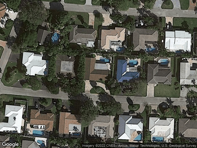 2741 NE 40Th Court Lighthouse Point, FL 33064 Satellite View