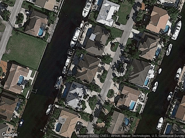 4241 NE 23rd Ter Lighthouse Point, FL 33064 Satellite View