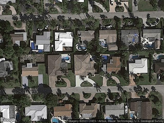 2731 NE 52nd Ct Lighthouse Point, FL 33064 Satellite View