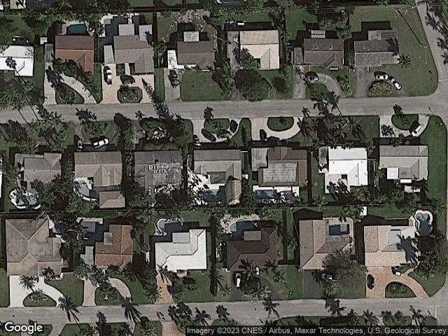 2770 NE 53rd St Lighthouse Point, FL 33064 Satellite View