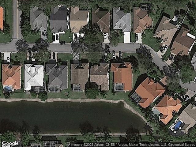 5954 NW 74th St Parkland, FL 33067 Satellite View