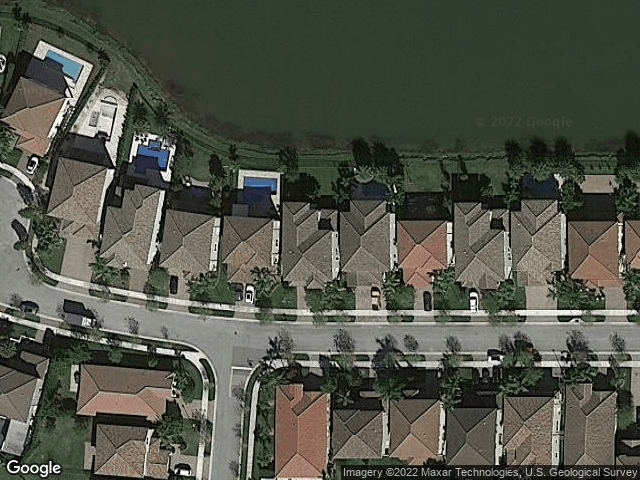9751 Blue Isle Bay Parkland, FL 33076 Satellite View