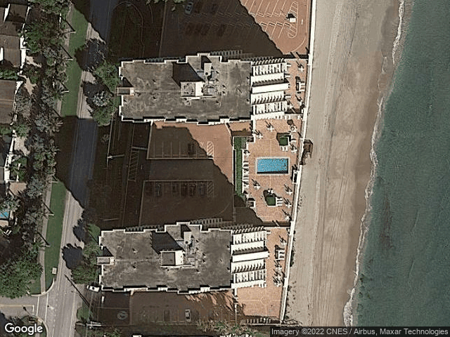4511 S Ocean Boulevard #804 Highland Beach, FL 33487 Satellite View