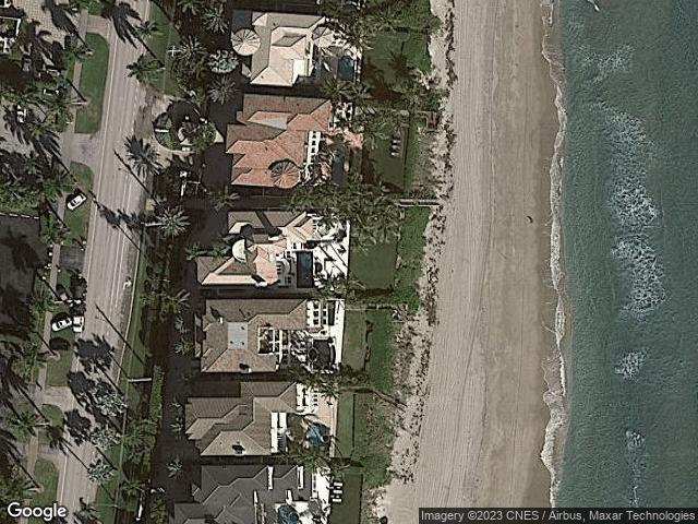 7 Ocean Place Highland Beach, FL 33487 Satellite View