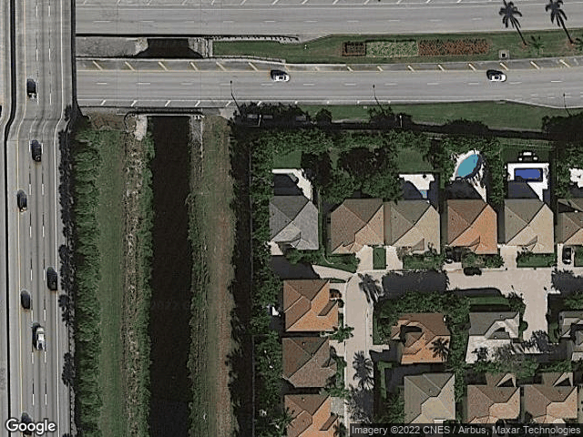 6671 NW 43Rd Terrace Boca Raton, FL 33496 Satellite View
