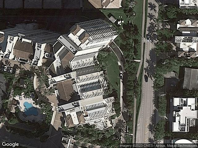 3700 S Ocean Boulevard #903 Highland Beach, FL 33487 Satellite View