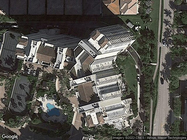 3700 S Ocean Boulevard #907 Highland Beach, FL 33487 Satellite View