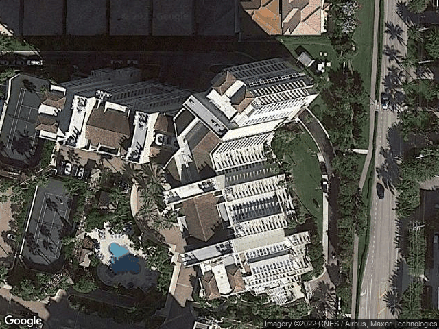 3700 S Ocean Boulevard #309 Highland Beach, FL 33487 Satellite View