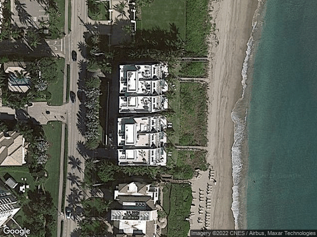 3621 S Ocean Boulevard #2 Highland Beach, FL 33487 Satellite View