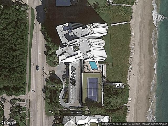 3407 S Ocean Boulevard #9a Highland Beach, FL 33487 Satellite View