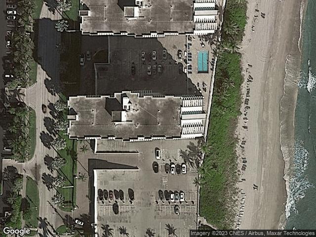 3301 S Ocean Boulevard #Ph-1002 Highland Beach, FL 33487 Satellite View