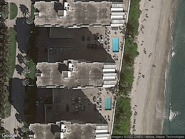 3221 S Ocean Boulevard #504 Highland Beach, FL 33487 Satellite View