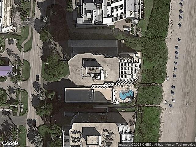 3201 S Ocean Boulevard #1002 Highland Beach, FL 33487 Satellite View