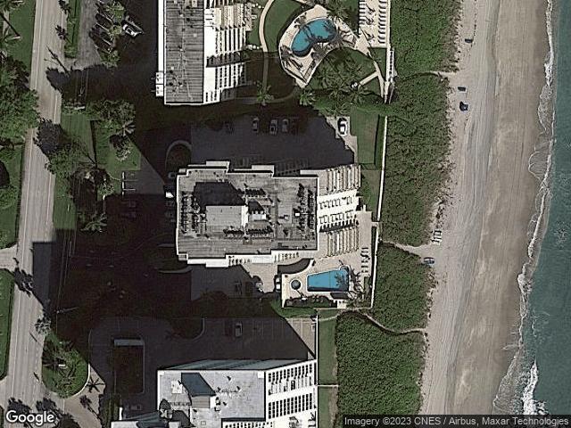 3009 S Ocean Boulevard #202 Highland Beach, FL 33487 Satellite View