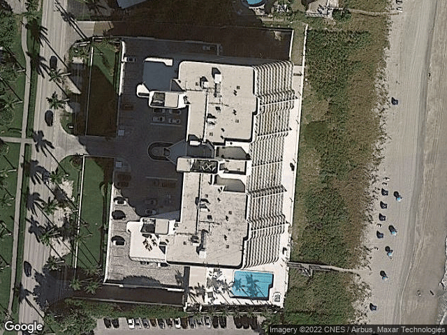 2727 S Ocean Boulevard #502 Highland Beach, FL 33487 Satellite View