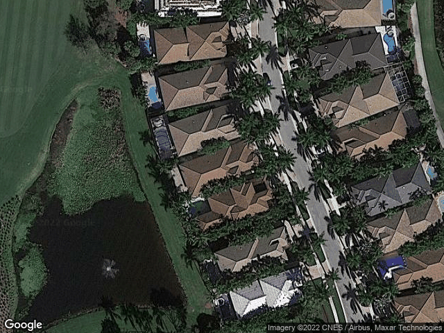 15945 Double Eagle Trail Delray Beach, FL 33446 Satellite View
