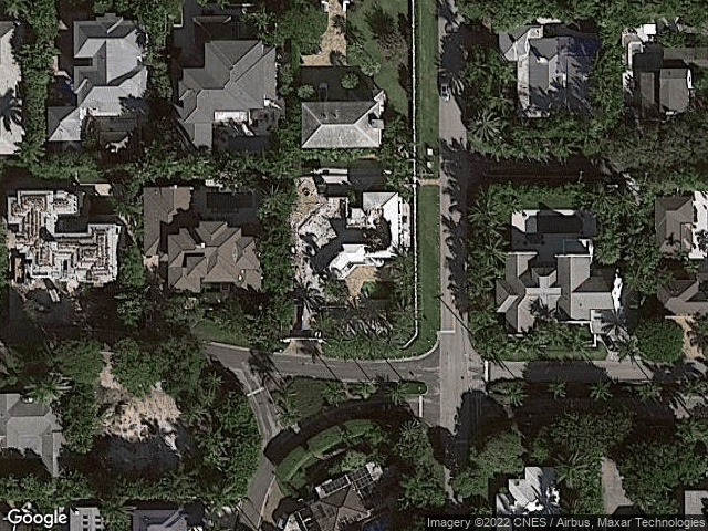 1137 N Vista Del Mar Drive Delray Beach, FL 33483 Satellite View