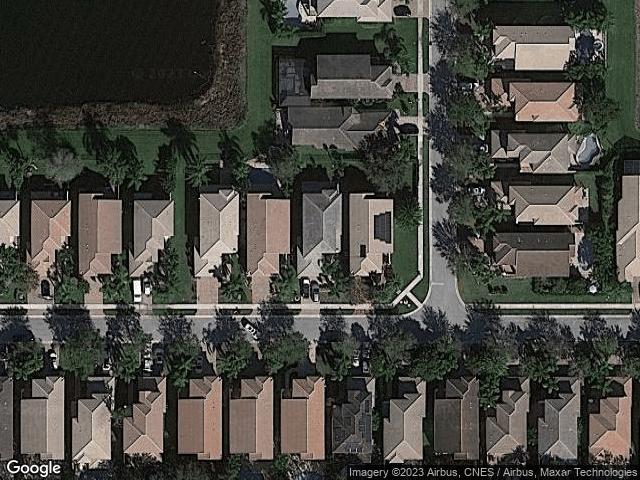 8812 Sandy Crest Lane Boynton Beach, FL 33473 Satellite View