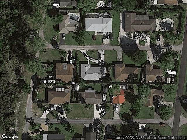 2530 Sun Up Lane Lake Worth, FL 33462 Satellite View