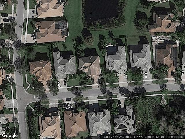 9253 Oak Alley Drive Lake Worth, FL 33467 Satellite View