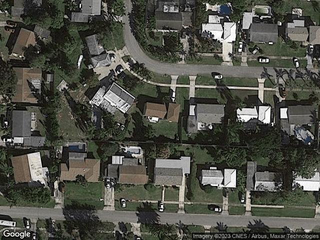 1711 Katherine Court Lake Worth Beach, FL 33461 Satellite View