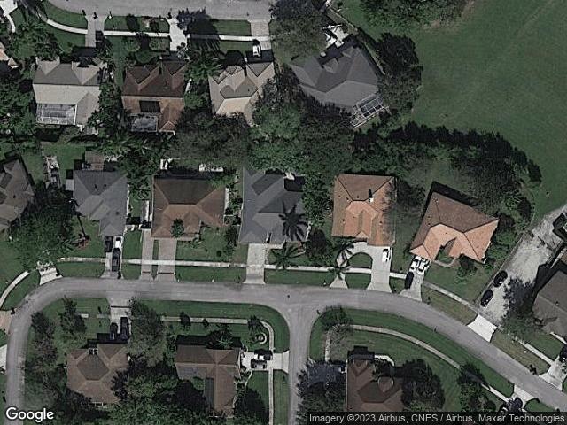 13869 Sheffield Street Wellington, FL 33414 Satellite View