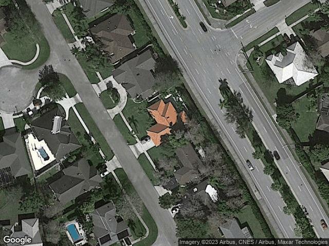 1852 Wisteria Street Wellington, FL 33414 Satellite View