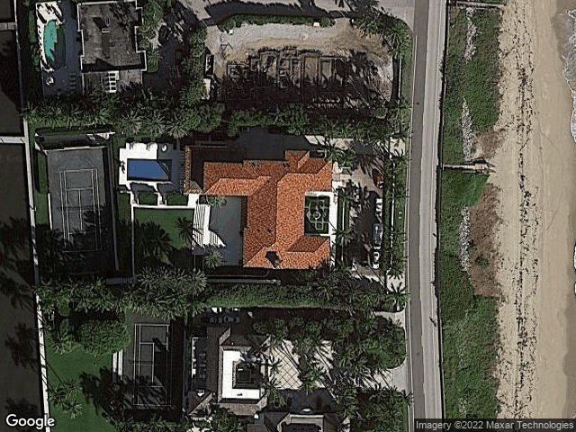 1744 S Ocean Boulevard Palm Beach, FL 33480 Satellite View
