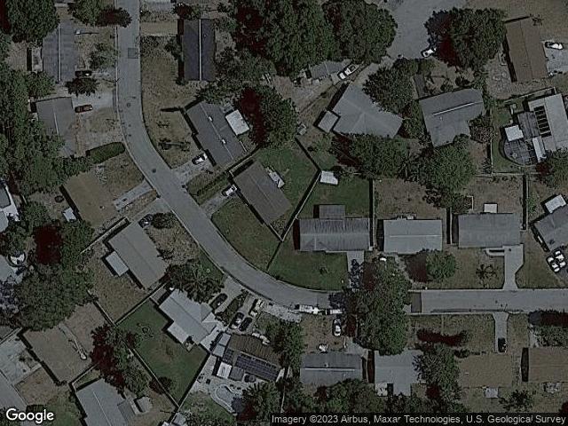 3664 SE Searobin Drive St Petersburg, FL 33705 Satellite View