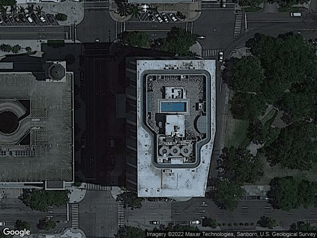 1 SE Beach Drive #1011 St Petersburg, FL 33701 Satellite View